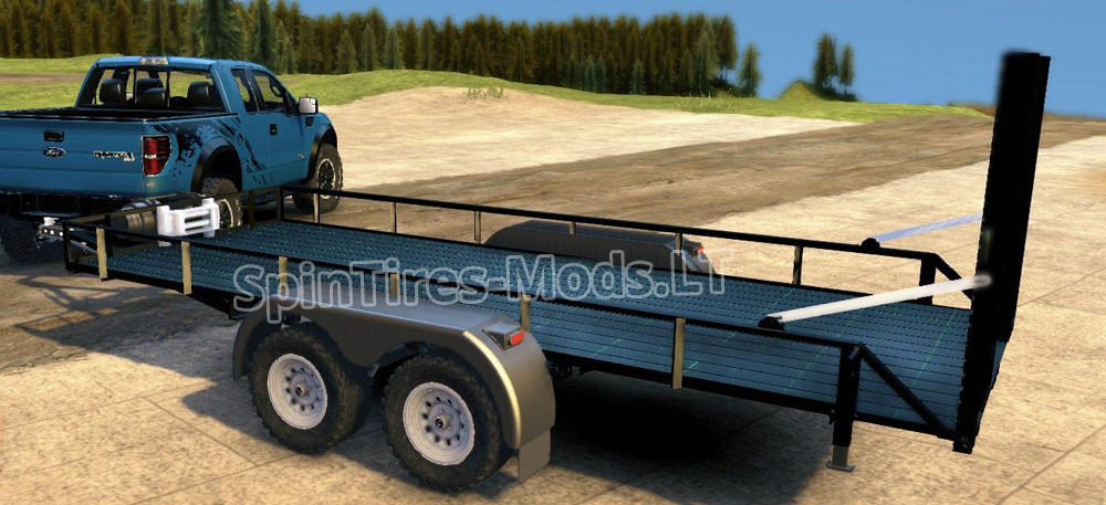 Cars And Travel Trailer