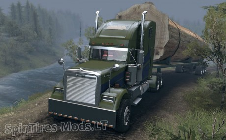 Freightliner-Classic-XL+Trailer