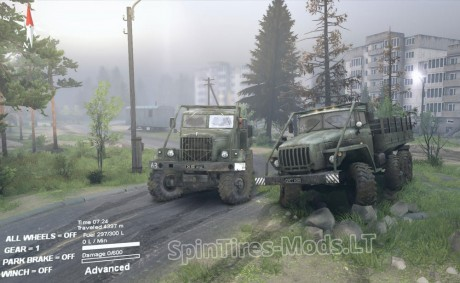 Kraz-&-Ural-Modifications-v-1.0