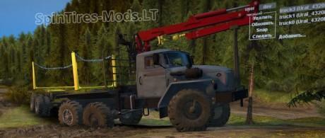 Ural-4320+Trailer