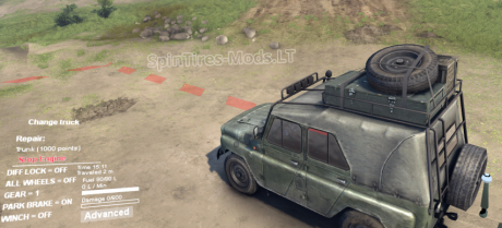 Increased-Repair-Point-on-UAZ-Trunk