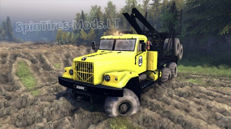 Kraz-255-B-Yellow-Texture