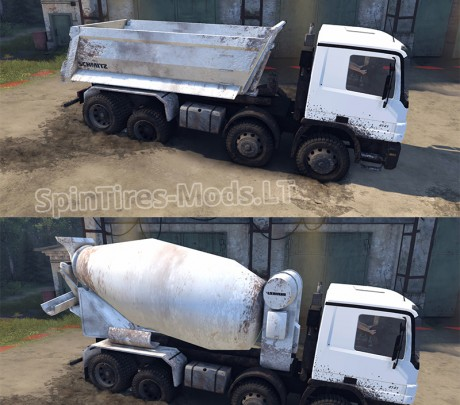 Mercedes-Benz-Actros-Tipper