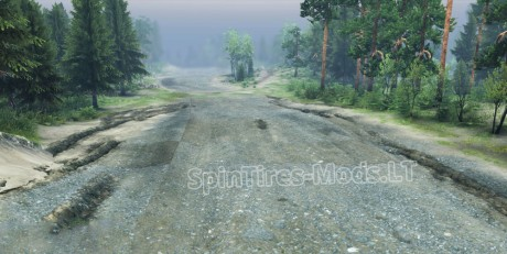 Crushed-Stone-Road