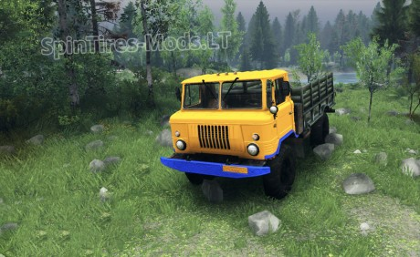 GAZ-66-Yellow-Texture
