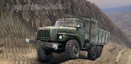 Ural-4320-Addon-Dump-Trailer