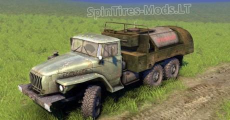 Ural-4320-Addon-Tank-Fuel