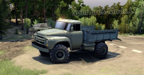 ZIL-Repaint-and-Kraz-Wheel
