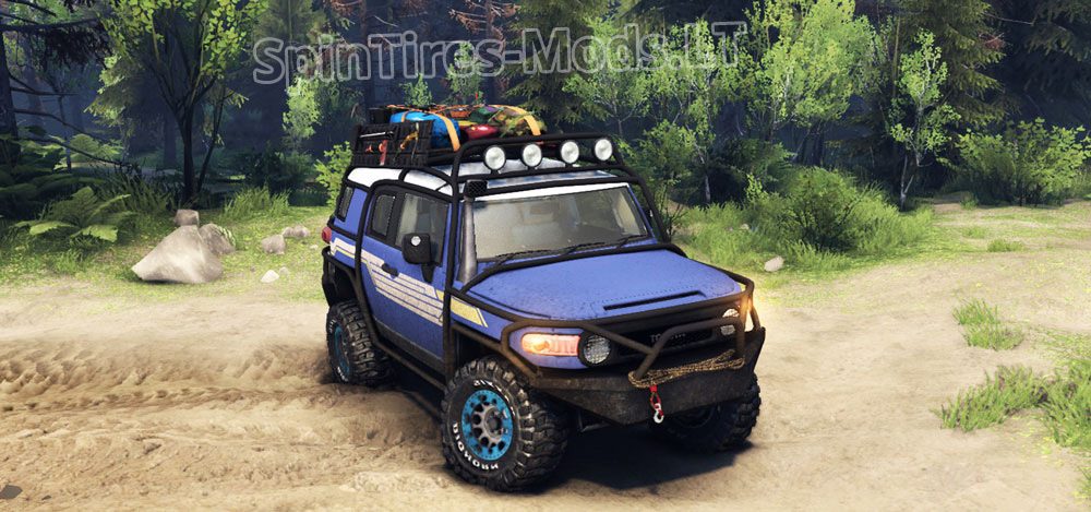 Fj Cruiser Mods : Toyota fj cruiser spintires mudrunner mods