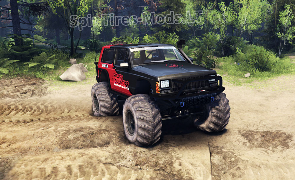 Jeep Cherokee Xj V 1 3 Spintires Mudrunner Mods