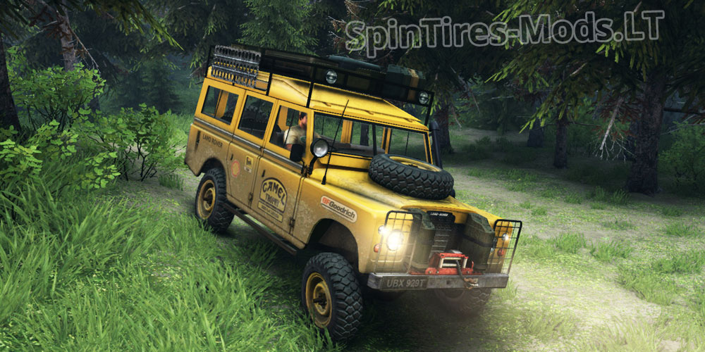 Land Rover Defender Series Iii V 2 2 Spintires Mudrunner