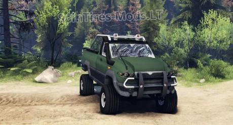 UAZ-Patriot-Pickup