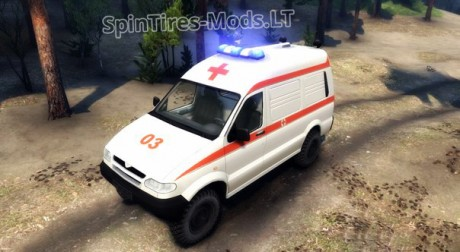 UAZ-27722-Ambulance
