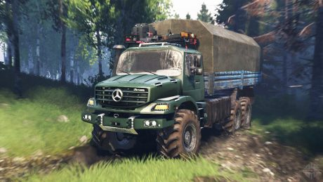 Mercedes Benz Zetros 2733 A 1