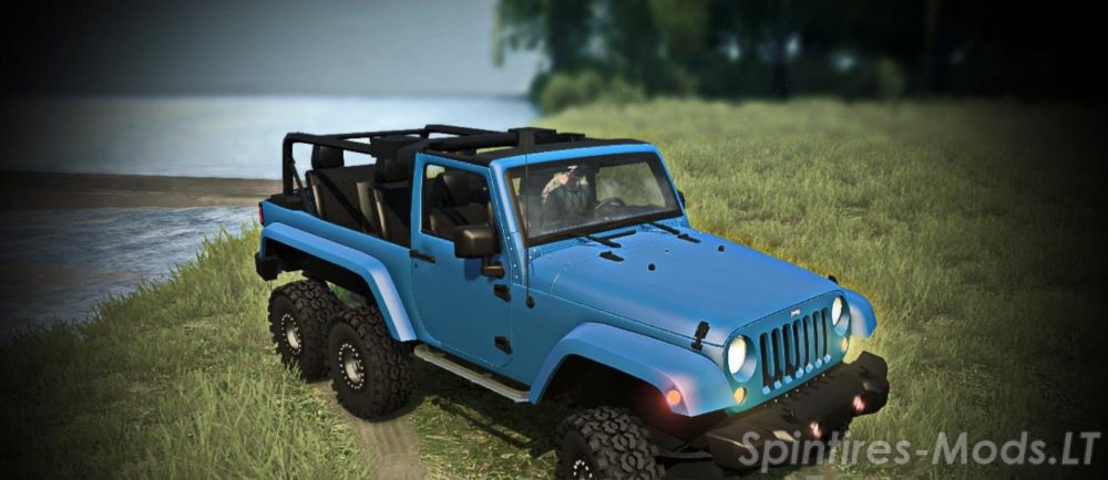 Jeep Wrangler 6×6 Turbo – SpinTires MudRunner mods